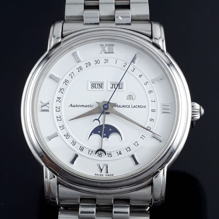 Maurice Lacroix - Moon Phase Triple Date Automatic  - AD42845 - Men - 2011-present