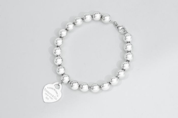 Return to Tiffany Bead Bracelet  Silver - Bracelet