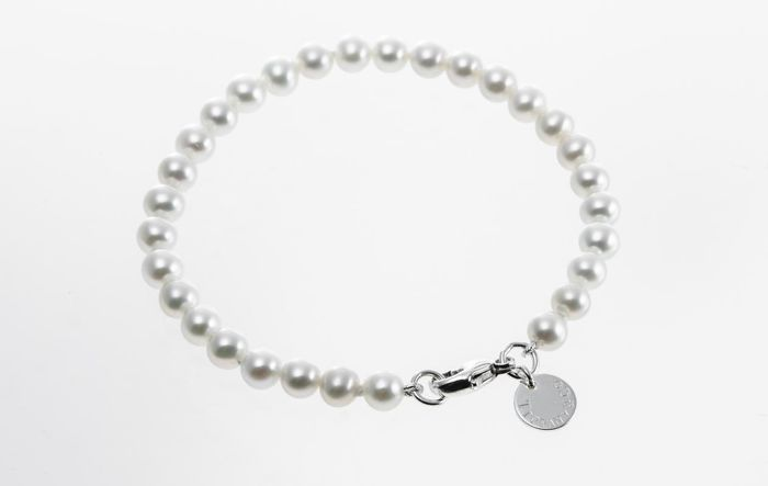 Tiffany & Co. Ziegfeld Collection Pearl Bracelet  Ασημί - Βραχιόλι