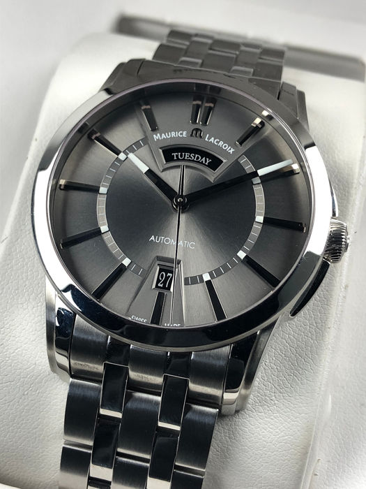 Maurice Lacroix - Pontos Day-Date Automatic  - PT6158 - 男士 - 2011至今