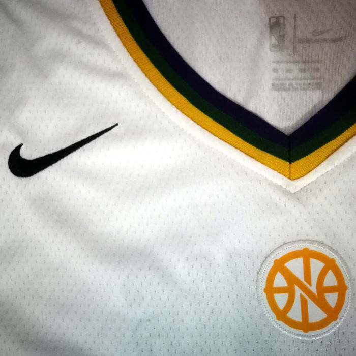 New Orleans Pelicans Anthony Davis Basketball Jersey