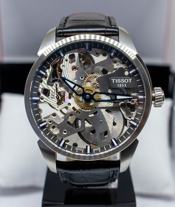 Tissot - T-COMPLICATION SQUELETTE  - T070.405.16.411.00 - Men - 2011-present
