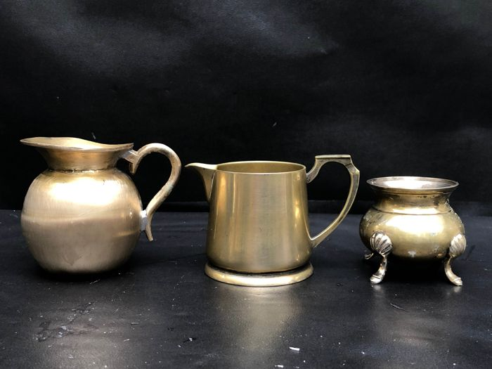 EPNS Vintage  - Pots - Silverplate, Electroplated