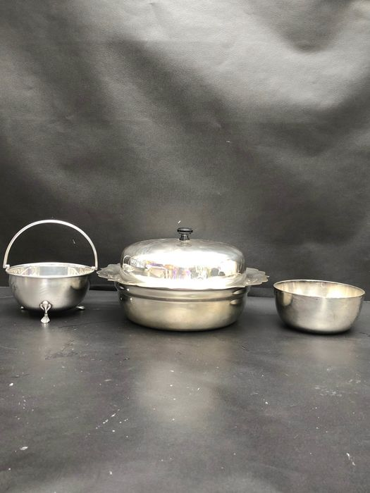 Vintage EPNS  - Basket, Pot , Tureen - Silverplate