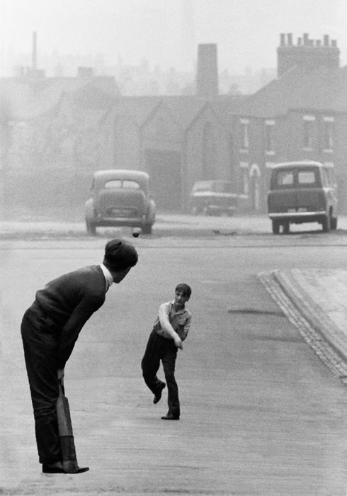 John Bulmer (1938-)  - UK Potteries, Cricket, 1962