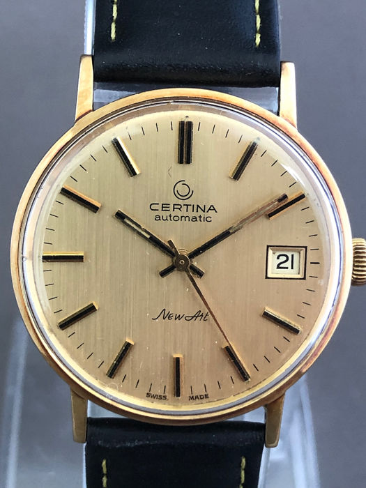 Certina - New Art Automatic - 14k Goud - Homme - 1960-1969