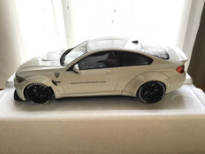 "GT Spirit - 1:18 - BMW M4 ""Liberty Walk"" White - Limited 300 pcs!"