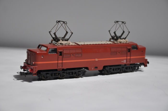 Lima H0 - Electric locomotive - 1200 Series, brown - NS