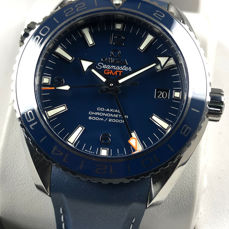 Omega -  Seamaster Planet Ocean GMT 600M Co-Axial 44 Automatic Titan - 232.92.44.22.03.001 - Heren - 2011-heden