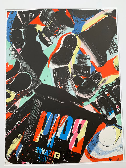 James Rosenquist - Mastaba (print only)