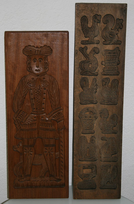 Planches Speculaas (2) - Bois