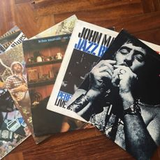 John Mayall - 5 Lp Albums  - Multiple titles - LP's - 1972/1981