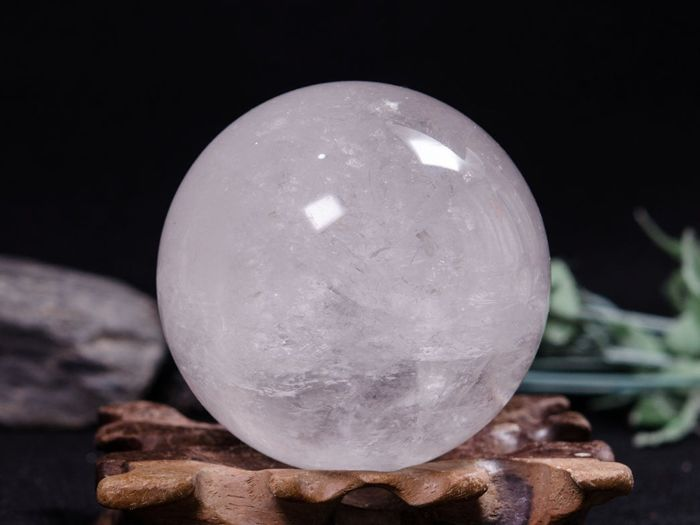 White Crystal Sphere - 72×72×72 mm - 578 g - Catawiki
