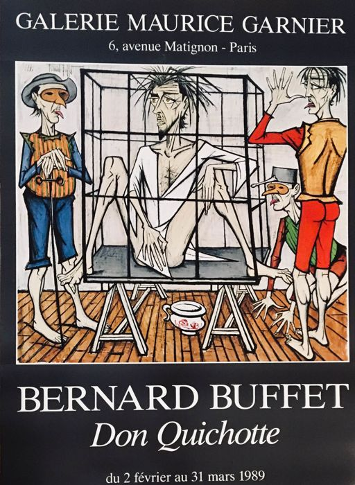 Bernard Buffet - Don Quichotte - 1989