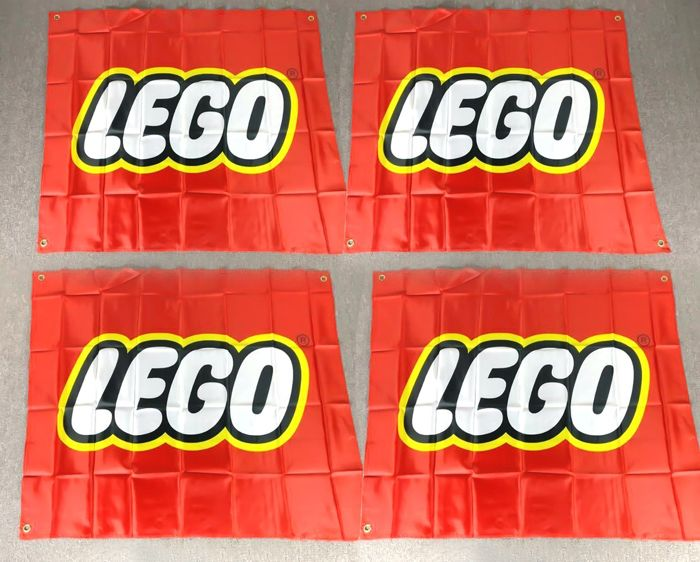 LEGO - Promotional - Flag Advertising Banner - 2000-present