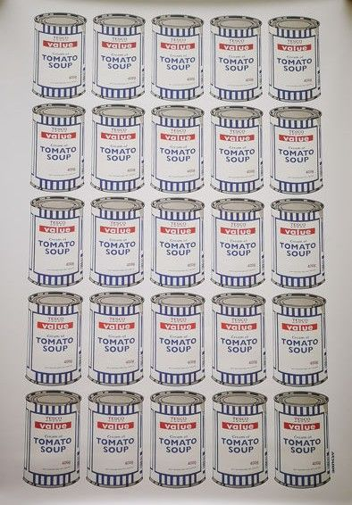 Banksy - Soup Cans