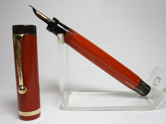 Vintage PARKER Duofold Jr Lucky Curve - Fountain pen
