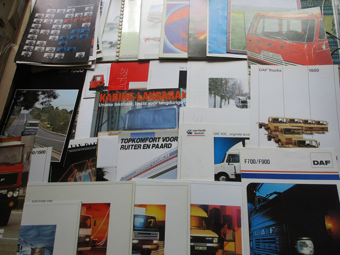 Brochures / Catalogi - DAF Trucks - 1969-1990