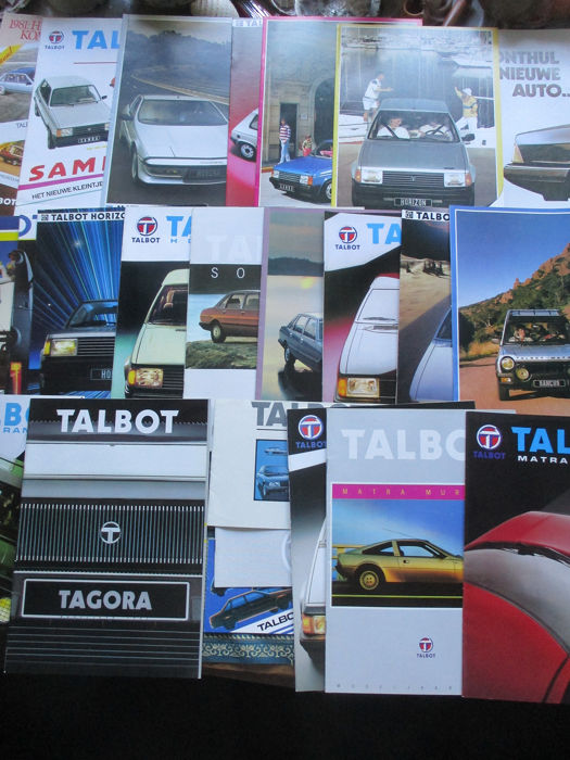 Brochures / Catalogues - Talbot - 1979-1985