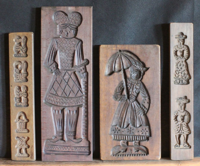Planches Speculaas (4) - Bois