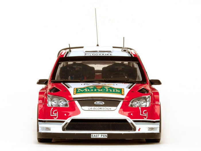Sunstar - 1:18 - Ford Focus RS WRC08 #9 Rally Acropolis 2009 - Limited Edition of 998 pcs. (Individually Numbered)