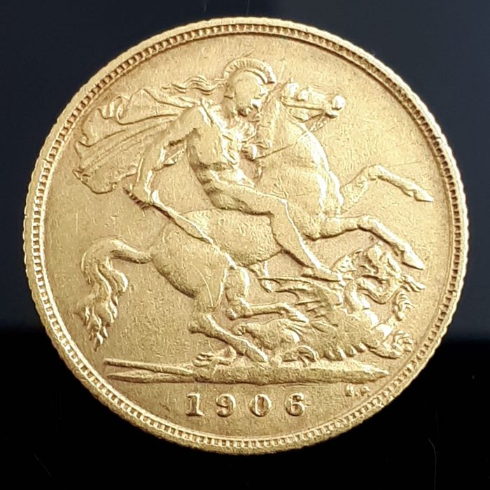 United Kingdom - ½ Sovereign 1906 Edward VII - Gold