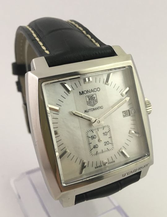 TAG Heuer - Monaco Mother of Pearl Edition - Ref. WW2112 - Men - 1990-1999