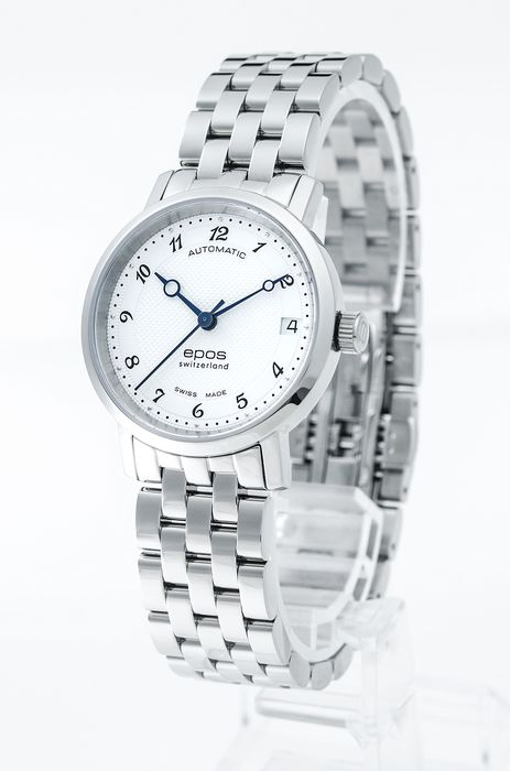 Epos - Ladies automatic watch - 4387-S/S-WHT/ARAB - Women - 2011-present