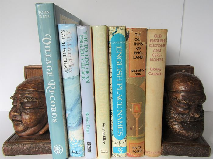 English Rural Life. Lot with seven books - 1938/1990