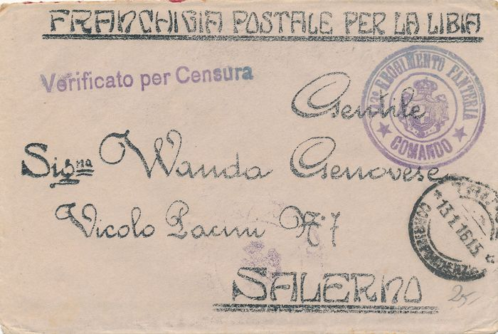 Italy Kingdom / Republic 1910/1950 - Military mail lot of 100 postcards, deductible, letters