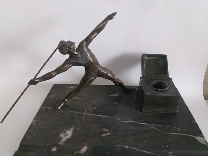 Enrique Barros Fernandez (1905/1999) - Sculpture with inkwell