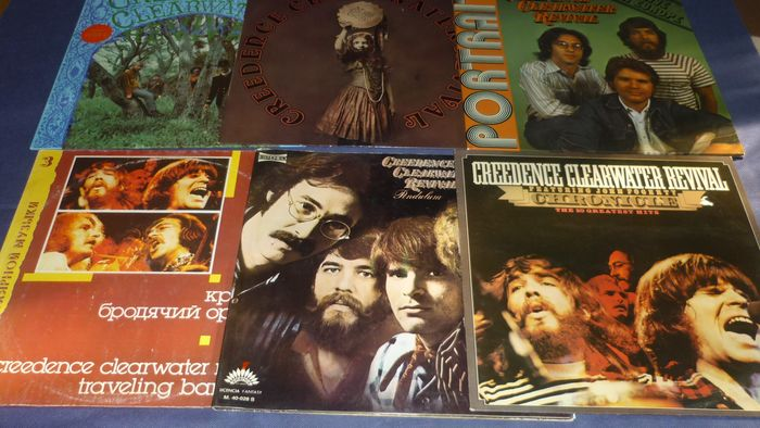 Creedence Clearwater Revival - 6 Albums incl  UK and