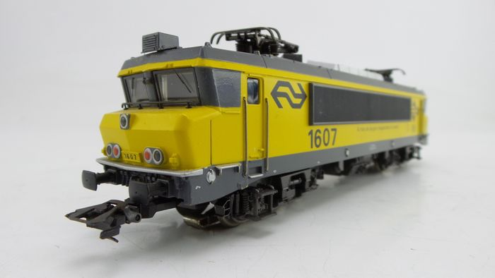 "Märklin H0 - 3326 - Electric locomotive - 1600 series, ""I pulled the longest passenger train"", record locomotive ""Vlissingen"" - NS"