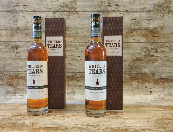 Writers' Tears Double Oak in original boxes - 700ml - 2 bottles