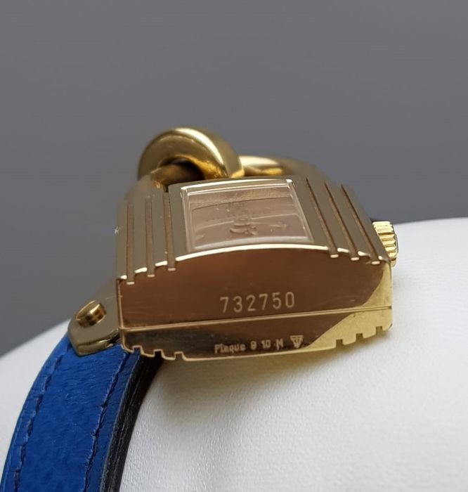 Hermès - Kelly Lock Watch Gold Plated Vintage Lady's - 'NO RESERVE PRICE'  KE1 201 - Women - 1990-1999 - Catawiki