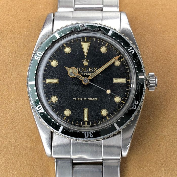 Rolex - Turn-O-Graph Gilt Dial - 6202 - Unisex - 1950-1959