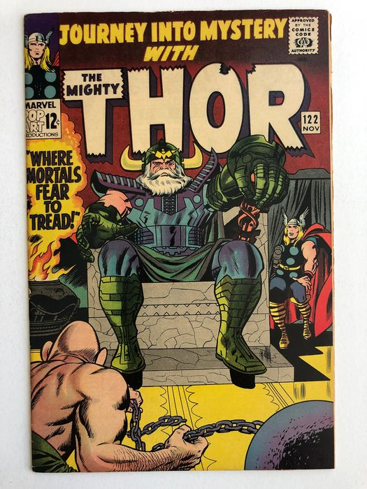 Journey Into Mystery/Thor #122 - Absorbing Man Appearance  - High Grade!!! - Softcover - First edition - (1965)