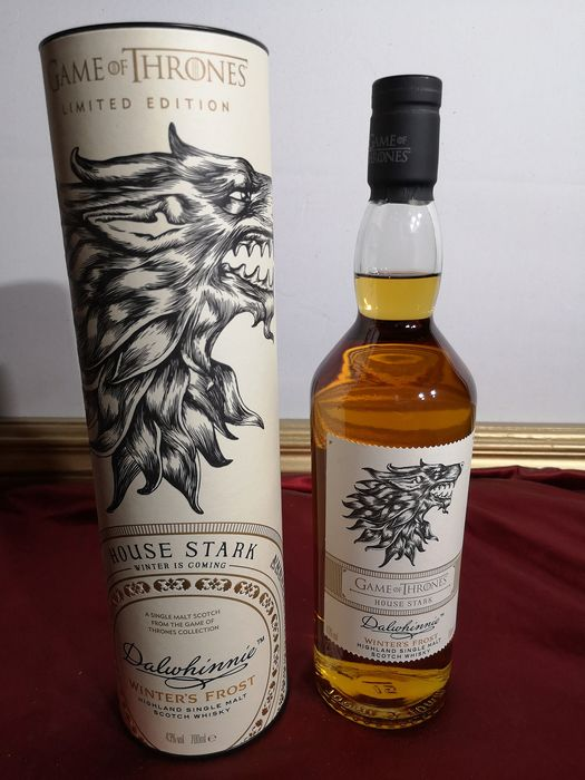 Dalwhinnie game of thrones limited edition house stark - 0.7 Ltr