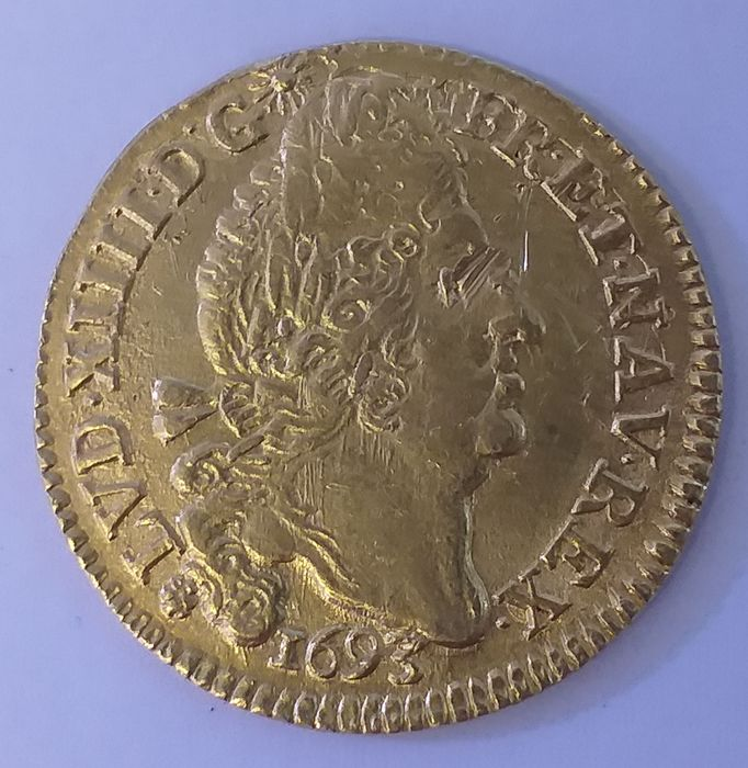 France - Louis XIV - Louis d'or 1693-M (Toulouse) - Gold