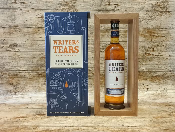 Writers' Tears Cask Strength 2017 Limited Edition - one of 5280 Bottles - 700 ml