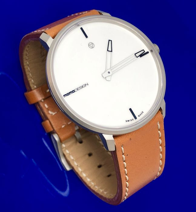 "MomoDesign - Watch Essenziale Heritage White  ""NO RESERVE PRICE"" - MD6003SS-12 - Άνδρες - BRAND NEW"