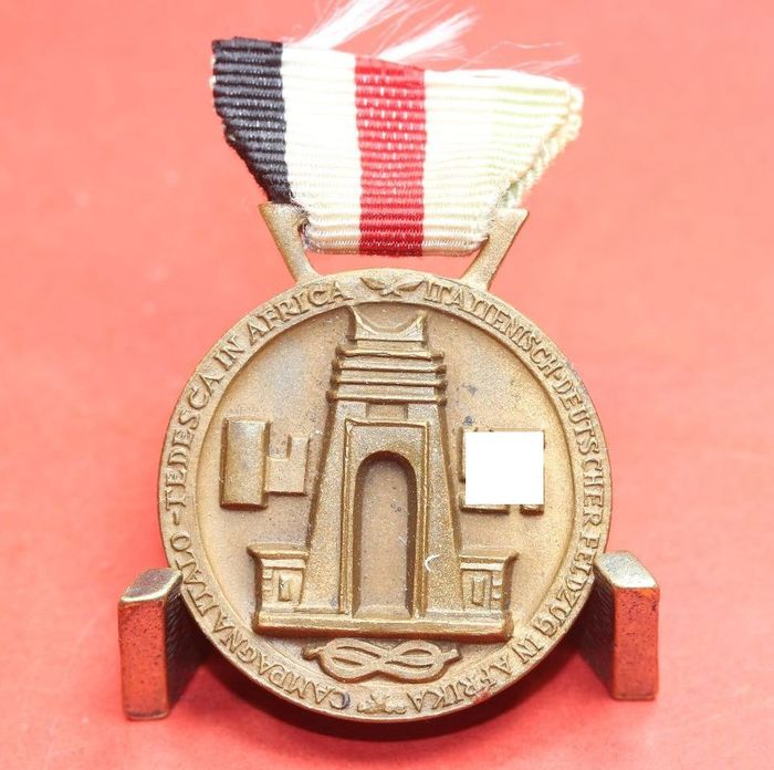 Germany - Army/Infantry - Italian-German campaign medal for Africa - 1938
