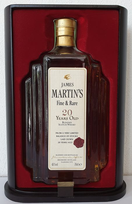 James Martin's 20 years old Fine & Rare - 0 7 Ltr - Catawiki