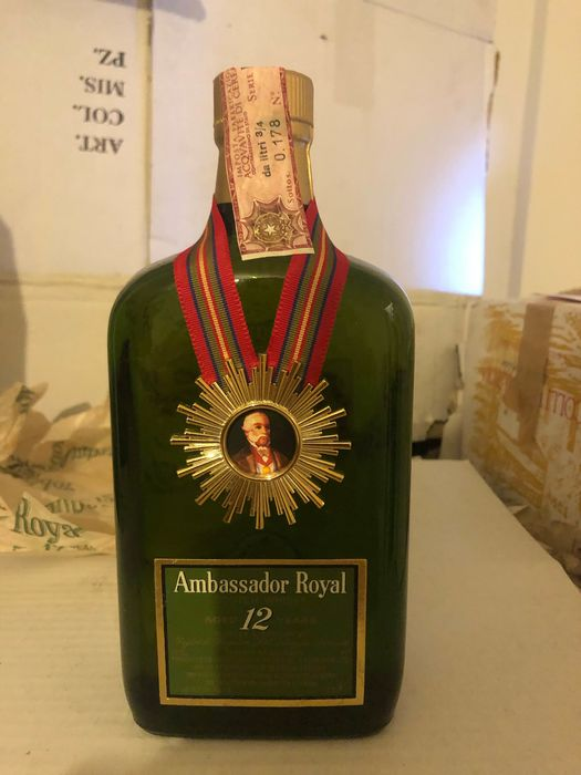 Ambassador 12 years old - b. 1970s - 75cl