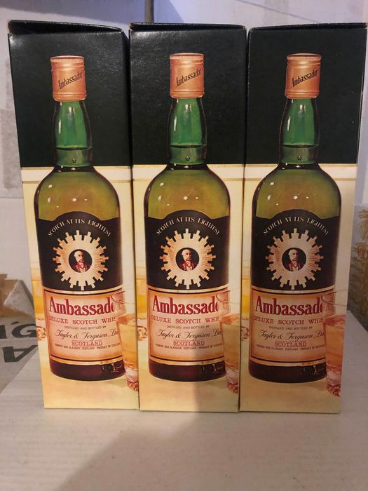 Ambassador 8 years old - b. 1970s - 75cl - 3 bottles