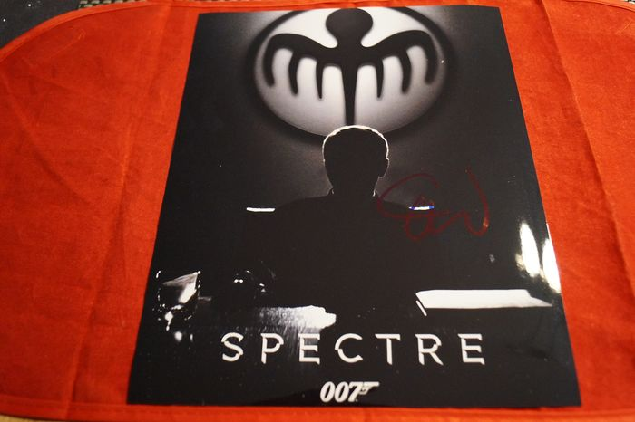 James Bond 007 - Christoph Waltz in Spectre as Ernst Stavro Blofeld - hand signed with COA  - Photo