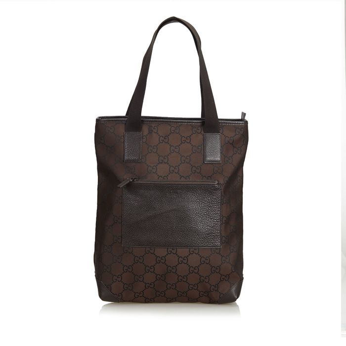 30742abc9 Gucci - GG Jacquard Tote Bag Shoulder Bag - Catawiki