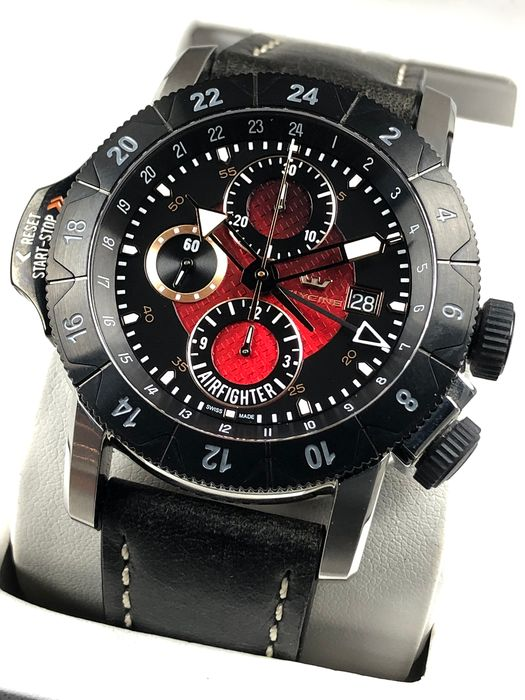 Glycine - Airman Airfighter Chronograph - 3921.19 - Men - 2011-present