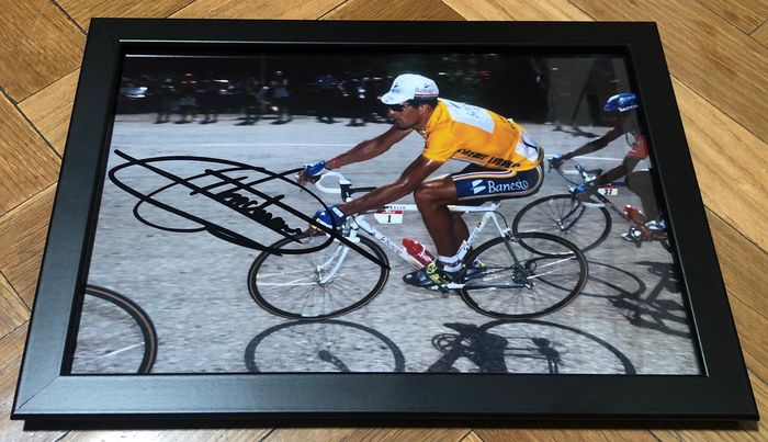 Cycling - Miguel Induráin - 2019 - Autograph, Photograph, Winner 5 x Tour de France