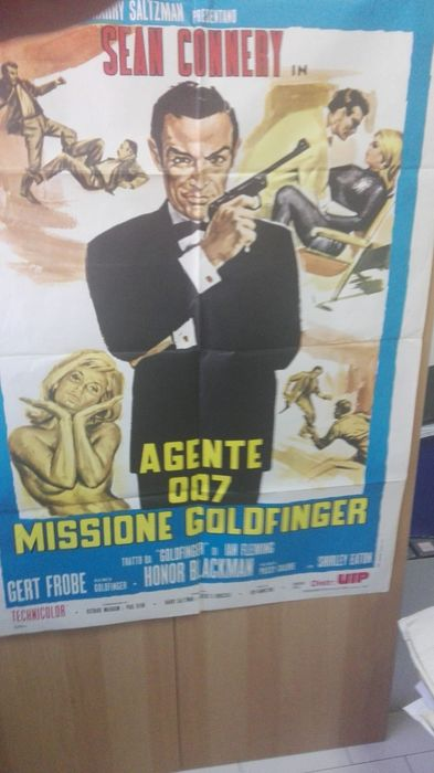 James Bond 007  - Rare Collection of 10 Original Release Italian posters - Valued by collectors worldwide